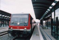 Bahnsteig 5 Bitterfeld