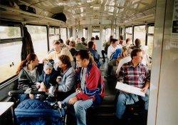 voller Schienenbus