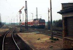 Zugkreuzung Stumsdorf