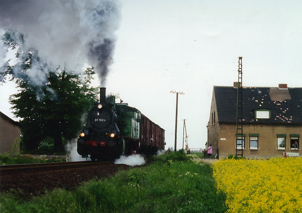 Auch das 213-Seelendorf Heideloh, war an beiden Tagen
