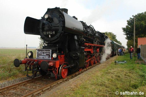 Ankunft des P113 in Großzöberitz.