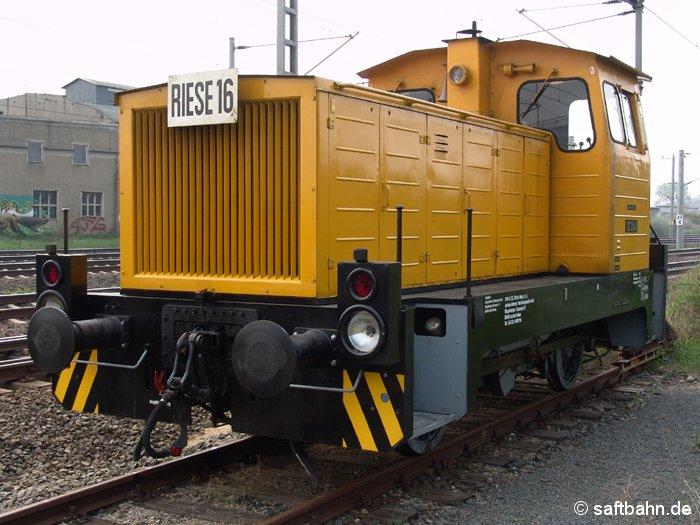 Im Rahmen von Gleisbauarbeiten zwischen Bitterfeld und Leipzig, gelangte am 06.05.2006 die