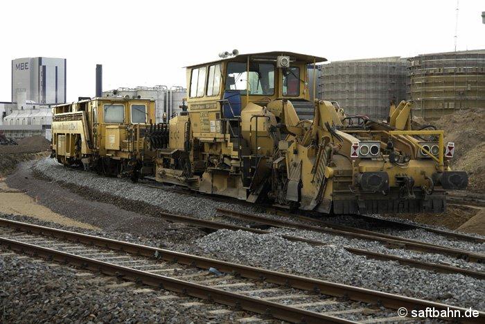 Um den Lade- und Rangiervorgang auf dem Anschussgleis des Bioethanolwerkes in Zörbig zu verbessern, wurde im Dezember 2006 der Lückenschluss zwischen dem Werksgleis und der Anschlussweiche