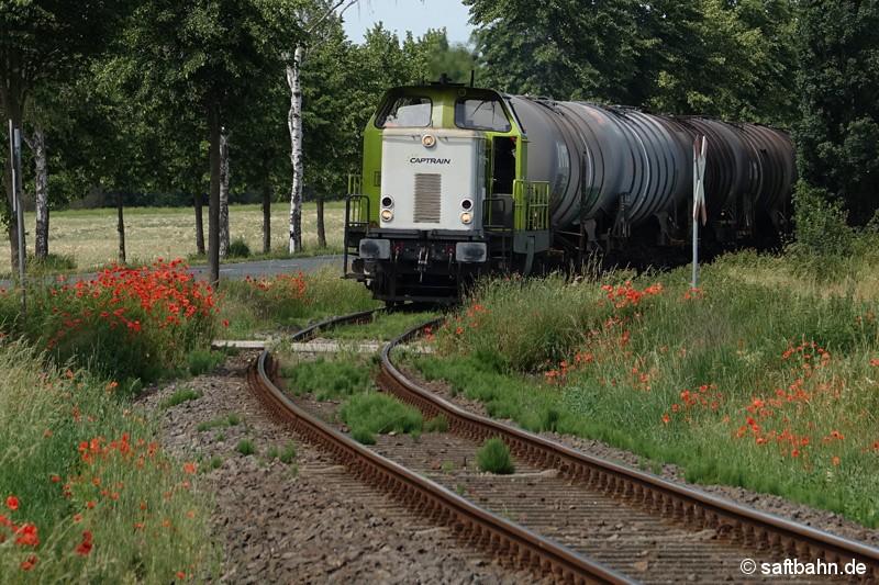 Wellige Schiene durch hohe Belastung: Seit 2005 wird die